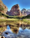 Zion Angels Landing Reflection