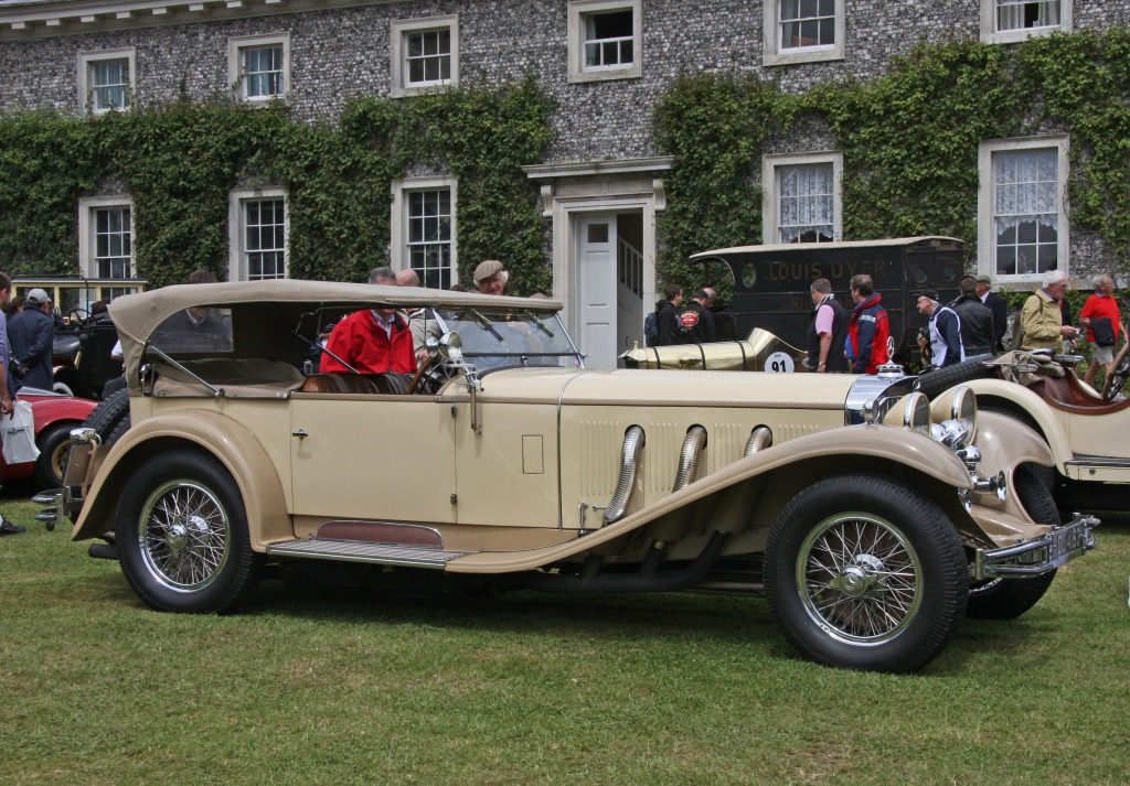 1930 mercedes benz ss tourer jigsaw puzzle in cars bikes for Mercedes benz ss