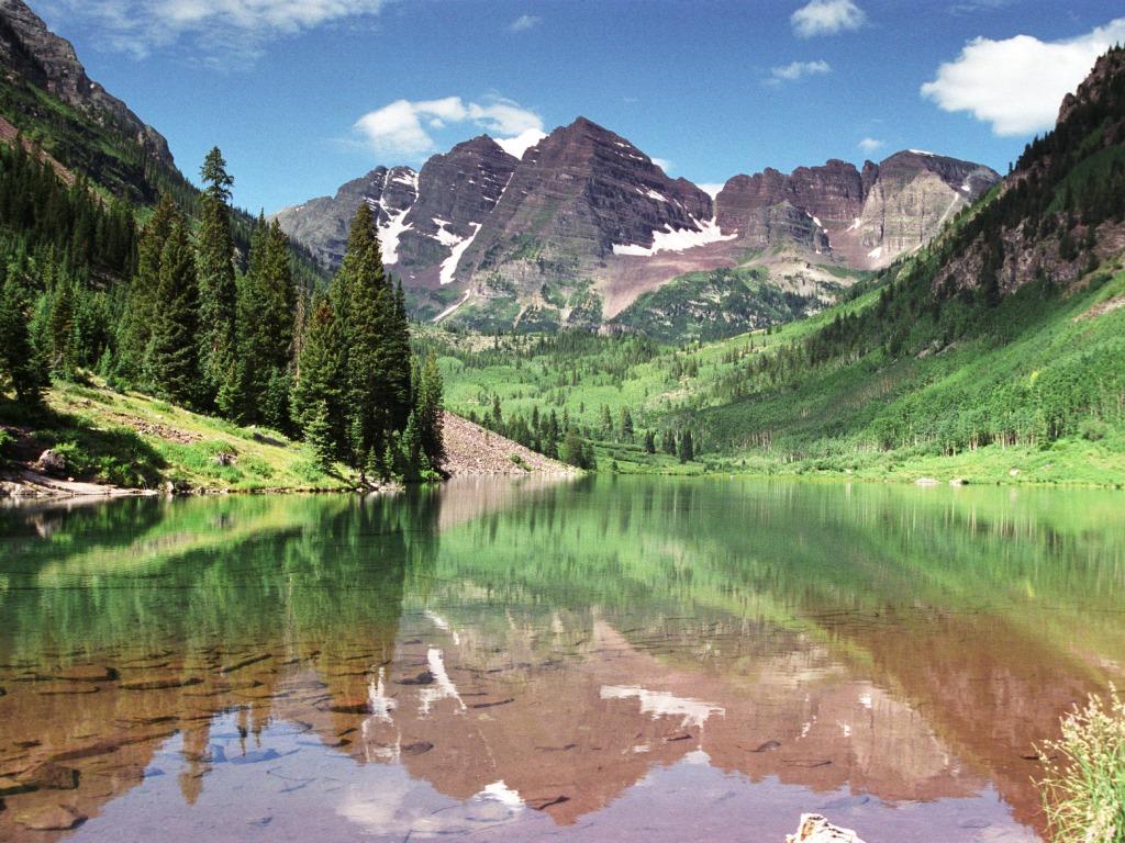 maroon bells lake at - photo #3
