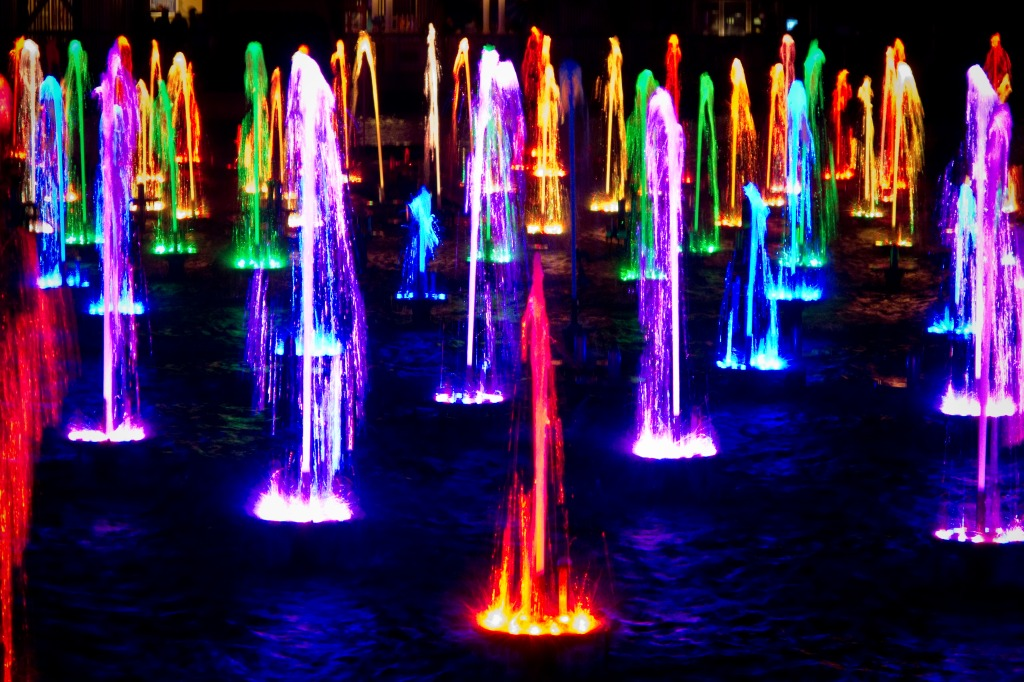 World of color fountains jigsaw puzzle in puzzle of the day puzzles on - World of color wallpaper ...