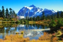 Mount Shuksan, Picture Lake