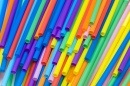 Many Colored Straws