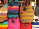 Shopping in Raquira, Colombia