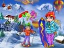Лыжный курорт puzzle on TheJigsawPuzzles.com