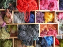 Dyed Wool in Ecuador