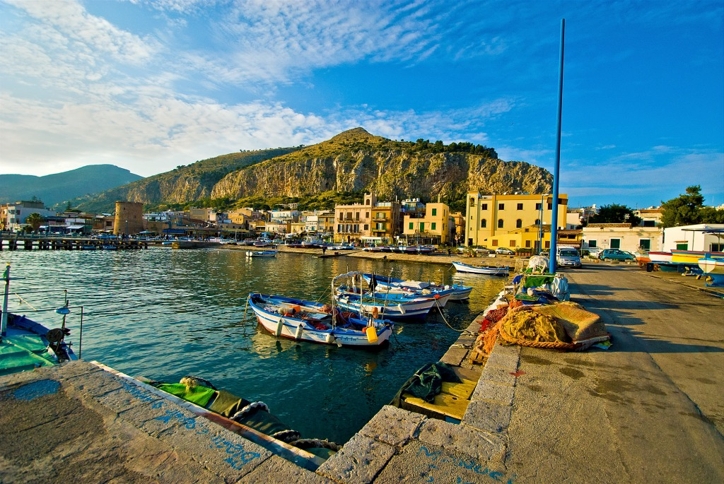 Palermo Italy  city pictures gallery : Mondello, Palermo, Italy jigsaw puzzle in Puzzle of the Day puzzles on ...