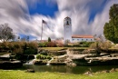 Boise Train Depot and Clouds