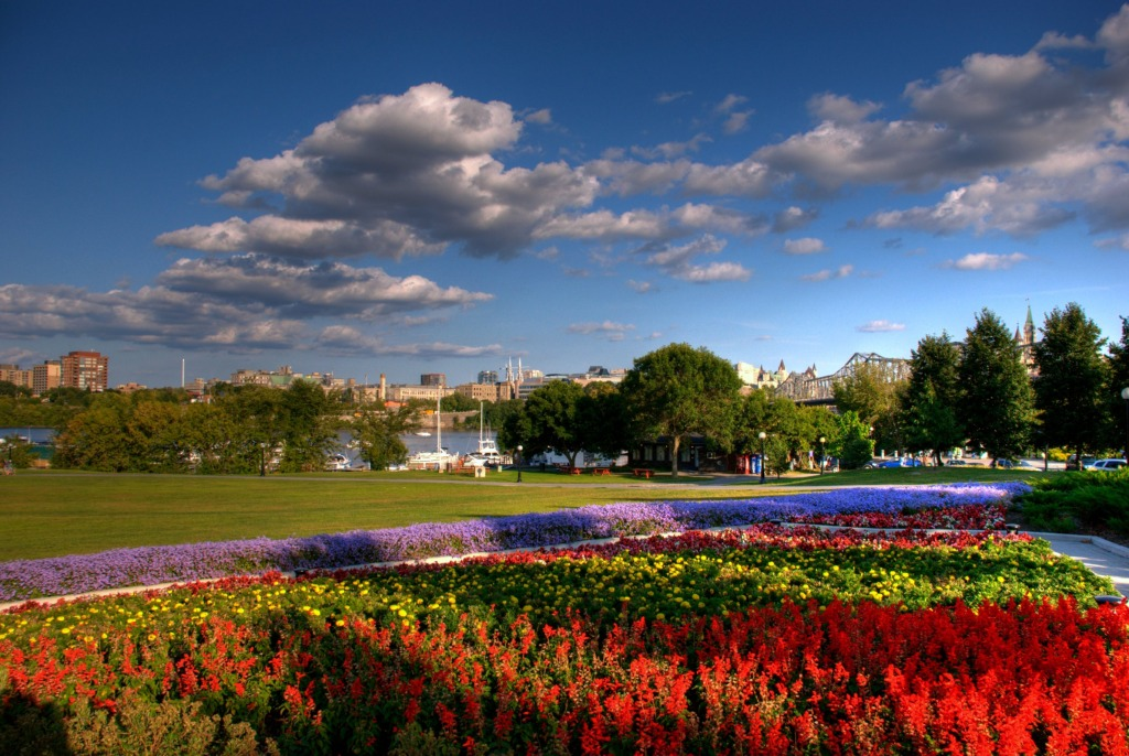 Jigsaw Puzzles Ottawa: Jacques Cartier Park, Ottawa Jigsaw Puzzle In Flowers