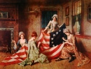Sewing the First American Flag