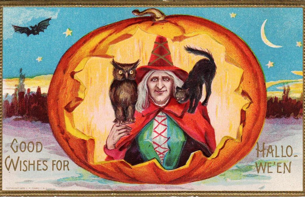 день рождения в хэллоуин открытка срочному вызову прилетал