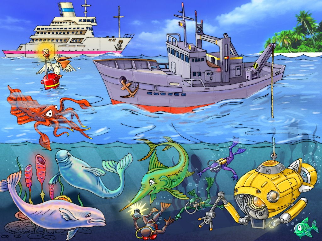 Under The Sea Jigsaw Puzzle In Kids Puzzles Puzzles On