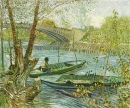 Fisherman and Boats from the Pont de Clichy