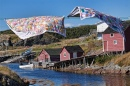 Quilts in Change Islands, Newfoundland, Canada