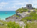Temple of the God Wind, Tulum, Mexico