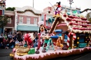 Christmas Fantasy Parade in Disneyland