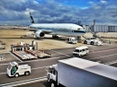 Cathay Pacific at Kansai Airport, Japan
