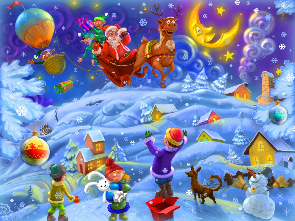 Happy Holiday Season jigsaw puzzle in Kids Puzzles puzzles ...