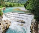 Lech Weir Lechfall in Füssen, Germany