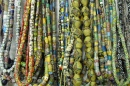 Traditional Glass Beads from Ghana