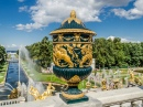 Vase on the Terrace of Grand Peterhof Palace