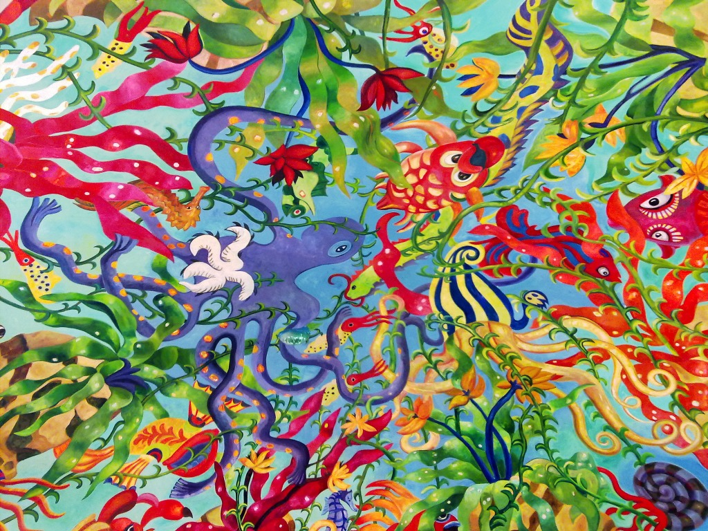 Abstract Art in Dubai jigsaw puzzle in Under the Sea ... - photo #7