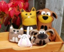 Cat and Dog Plushies