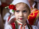 Macedonian Girl in National Costume