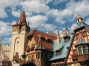 Fantasyland Bavarian Architecture