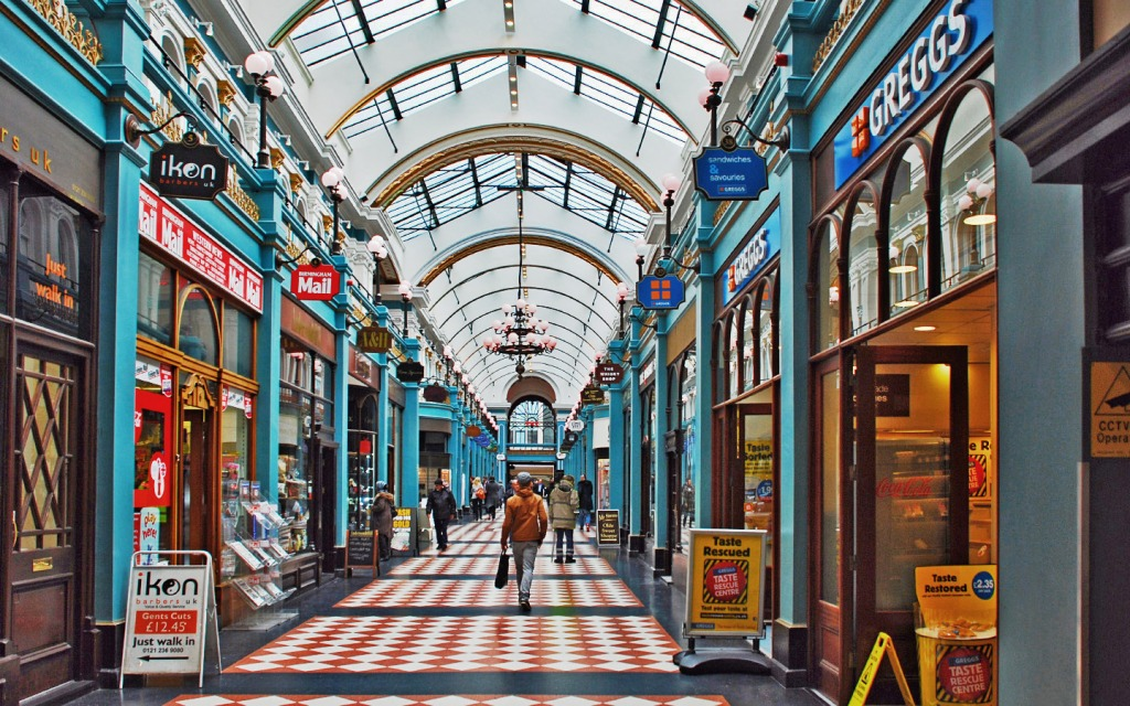 Liberty Pull Apart >> Great Western Arcade, Birmingham UK jigsaw puzzle in Puzzle of the Day puzzles on ...