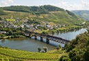 Heritage Bridge over the Moselle River