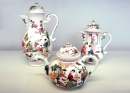 Meissen Teapots Decorated in the Netherlands