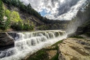 Lower Falls, Letchworth State Park
