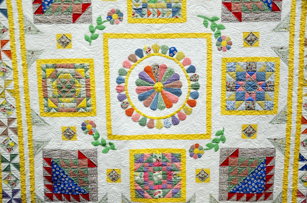 Quilt From The Kentucky State Fair Jigsaw Puzzle In