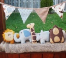 Safari Animal Plushies