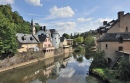 The River Alzette in Luxembourg Pfaffenthal