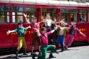 Red Car News Boys, Disney California Adventure