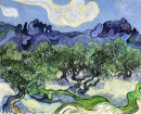 The Alpilles with Olive Trees in the Foreground