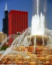 Buckingham Fountain & Sears Tower, Chicago