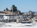 Quebec City and Chateau Frontenac, Canada