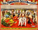 Poster for Forepaugh & Sells Brothers