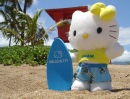 Hello Kitty Surfs the North Shore