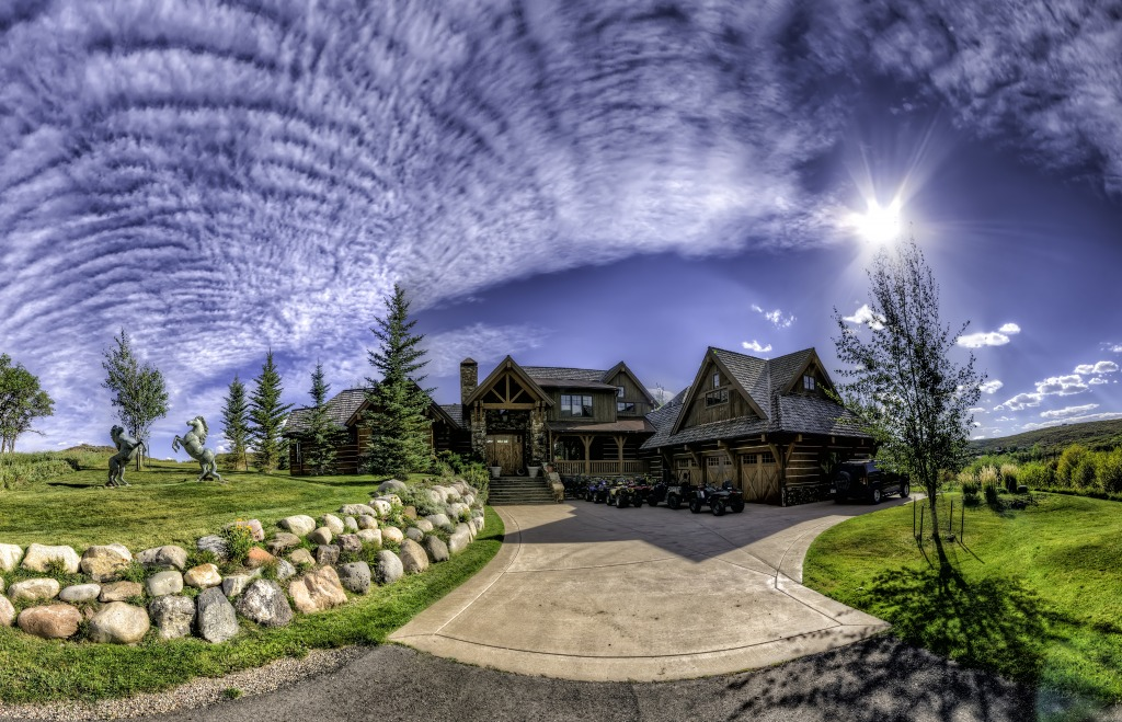 High Aspen Ranch Colorado Jigsaw Puzzle In Great