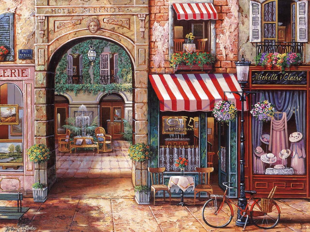 paris jigsaw puzzle in piece of art puzzles on. Black Bedroom Furniture Sets. Home Design Ideas