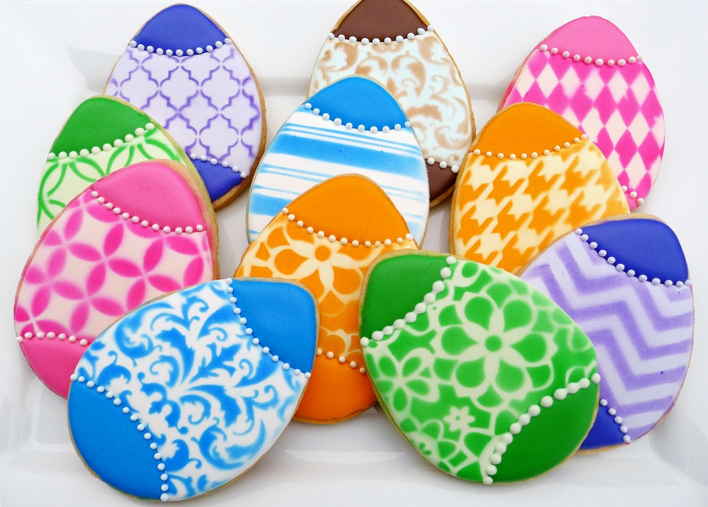 Easter Egg Cookies jigsaw puzzle in Macro puzzles on ...
