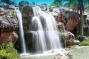 Small Waterfall in Monroe, Florida
