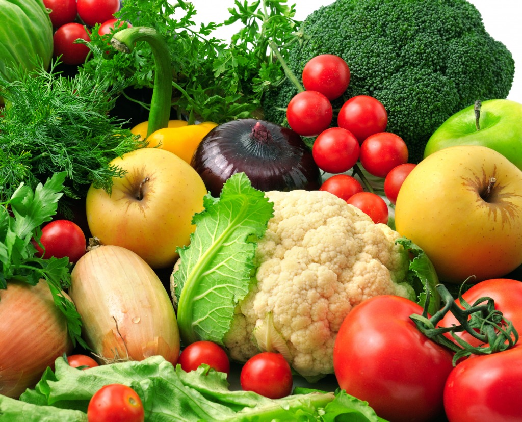 fresh fruits and vegetables jigsaw puzzle in fruits u0026 veggies