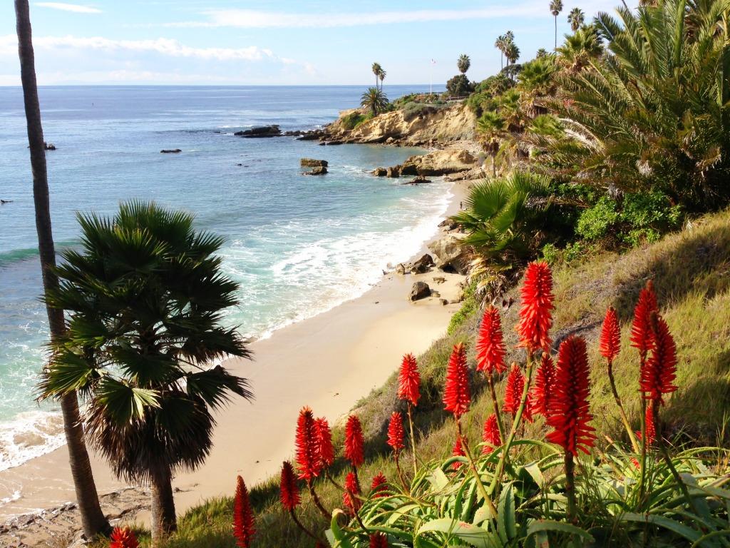 Laguna Beach Kalifornien jigsaw puzzle in Großartige ...  Laguna Beach Ka...