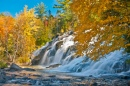 Bond Falls in Ontonagon Michigan