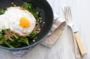 Tabbouleh Fried Eggs