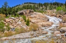 Alluvial Fan Falls, Rocky Mountain NP